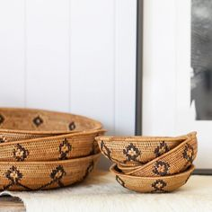 A lot of effort is made by the women who hand weave these exotic bowls and platters, the process empowers them to care for their families and support their children's education. Returning to these local villages and families allows us to see the change it brings to their lives and makes it all worthwhile 🌏 SB x ⠀ ⠀ #stbartsstores #online #furniture #homewares #textiles #ceramics #fashion #art #brisbane #goldcoast