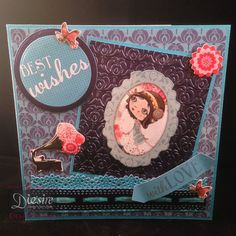 Angelan O'Donoghue - Verity Rose CD - Cupcake - Die cut Embellishments - Embossing folder - Paper pad - Lace Edge and Ribbon Border dies - Collall Tacky Glue, Collall All Purpose Glue, Collall 3D Glue Gel - #crafterscompanion