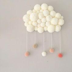 Création nuage #Pompons