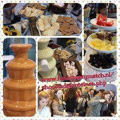 Chocoladefonteinen inhuren Heerlijke Melk en Witte chocolade smelten op uw tong. Chocolade bevat stoffen om vermoeidheid tegen te gaan. Nog bekender is dat het een afrodisiac is. http://www.funenpartymatch.nl/chocoladefonteinen.php