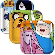 Adventure Time Dessert Plates (8)
