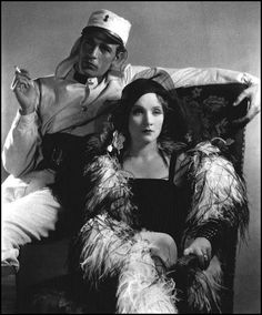 "Marlene Dietrich and Gary Cooper in ""Morocco"", 1930"