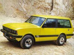 monteverdi safari 1976-1981 - yellow car