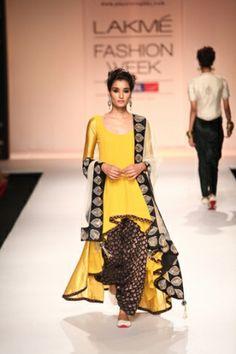 Payal Singhal Lakme Fashion Week '13 Suit