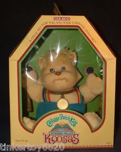 The Cabbage Patch Koosa doll. Along with the dolls, car seat, play pin, . Toys Land, Cabbage Patch Kids Dolls, Popular Toys, Childhood Days, Kids Board, Ol Days, Teenage Years, 90s Kids, Good Ol