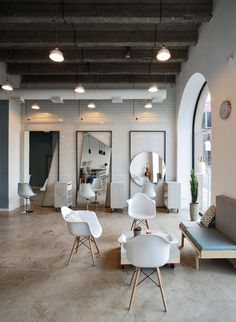"OD Blow Dry Bar, Yerevan / ""SNKH"" on Behance"