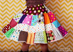 Twirl the Dots  tiers of dots patchwork by GenerationsInStyle, $38.00