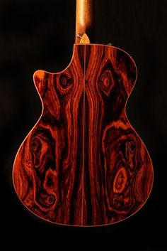 Cocobolo back on a Taylor