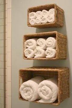 Organize small bathroom. Very in expensive storage and can be hung with straight pins? Great for apartments. When you pull the pins out you can barley see the pin hole. No repair needed.