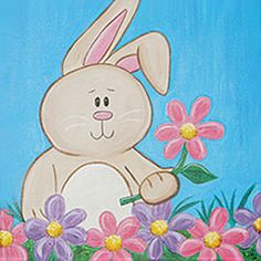 Social Artworking: Springtime Bunny