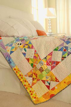 Quilts for Kids - free pattern - great for scraps