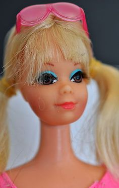 Superb Vintage Twist'N Turn P J Doll Blonde Hair w Swimming Suit Barbie | eBay