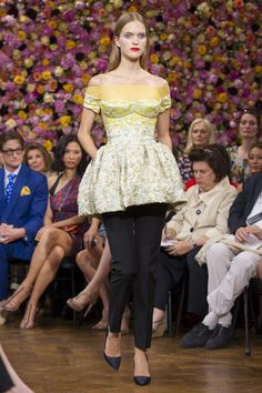 Raf Simon's makes his Dior debut with his first haute couture collection for the fashion house