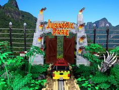 BrickNerd - Your place for all things LEGO and the LEGO fan community Jurassic Park Trilogy, Lego Jurassic Park, Jurassic Park World, Legos, Lego Dino, Jurrassic Park, Lego Bedroom, Lego Pictures, Brick In The Wall
