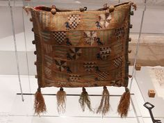 Petit Point bag. Beautiful 'embroidered' bag in a Museum in Bulle, Switzerland