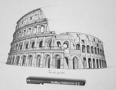 emrah uşman http://ift.tt/2hTGIxR architecture drawing illustration art sketch