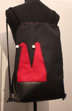 noch ein Monat - dann ist schon wieder Nikolaus :-) Beutel / Rucksack von nahtSachen