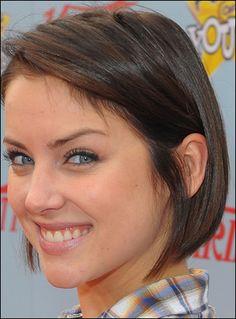 jessica stroup's short hair