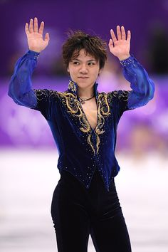 The evolution of men's Olympic ice skating costumes.