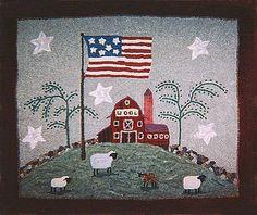 Image - Wool Barn (36 x 43) by Mercedes Hnizdo