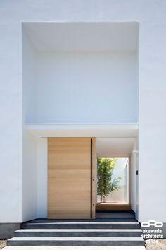 ナカニワノイエ1|中庭 コートハウス 住宅|白 モダン シンプル