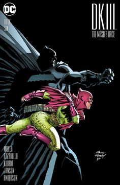 Dark Knight III: The Master Race (2015) #6 #DC @dccomics #DarkKnight (Cover Artist: Brad Anderson, Klaus Janson, Andy Kubert, Frank Miller & Alex Sinclair) Release Date: 10/19/2016