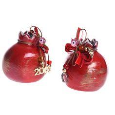 ΡΟΔΙ ΓΟΥΡΙ 2019 7cm ΚΟΚΚΙΝΟ ΚΕΡΑΜΙΚΟ ΜΕ ΧΡΥΣΕΣ ΑΝΤΑΥΓΕΙΕΣ ΚΩΔΙΚΟΣ: ta-go-00440 Christmas Bulbs, Stone, Holiday Decor, Home Decor, Rock, Decoration Home, Christmas Light Bulbs, Room Decor, Stones
