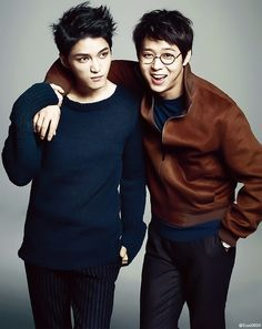 Kim Jaejoong and Park Yoochun for Marie Claire Korea