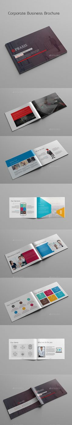 Corporate Business Brochure Template #design Download: http://graphicriver.net/item/corporate-business-brochure/11861464?ref=ksioks