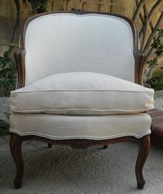 Pair of Louis XV Bergere Chairs by Meyer Gunther by FoundinFrance, $995.00