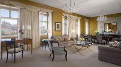 Premier Suite at the Four Seasons Hotel Prague