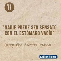 Frases célebres de cocina - Gallina Blanca   https://lomejordelaweb.es/