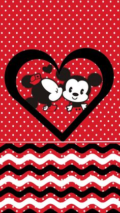 Minnie&Mickey Love Wallpaper