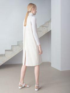Long Vest, THISISNON, Raw Silk Collection, photo Kasia Bielska