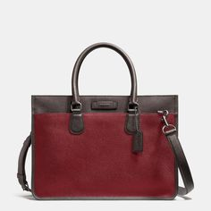 He may miss his ol' knapsack when you hand him this sleek and structured leather briefcase. But he'll quickly thank you after he gets that 2015 promotion.