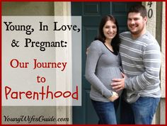 I wrote this post over two years ago when we were preparing to have our twin boys. Now, more than 2 years later we have toddler twins and are looking forward to the arrival of our third baby...and I'm only 25. Here's our journey towards parenthood and how it happened so young http://youngwifesguide.com/young-in-love-and-pregnant-our-journey-to-parenthood/