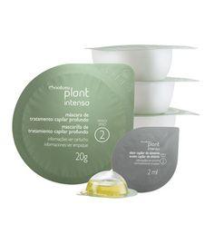 Combine a máscara de tratamento profundo com o elixir de abissínia. Aplique nos cabelos, deixe agir por 5 minutos e enxágue. O tratamento é contínuo, com recomendação de uso de até 2 vezes por semana.