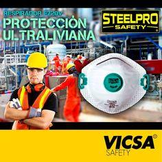 [STEELPRO: Respirador F720V]  Conoce nuestros productos en: http://www.vicsasafety.com.pe/inicio  Consulta con tu asesor de ventas. Contáctanos: 715-7200 / ventas@vicsasafety.com.pe Twitter: @VicsaSafPeru Pinterest: VICSA Safety