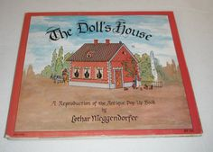 The Doll's  House A Reproduction of the Antique Pop-Up Book  by Lothar Meggendorfer on Etsy, $14.99