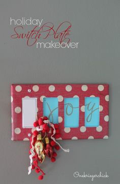 Holiday Light Switch Cover
