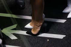 BACKSTAGE AT ALEX PERRY MBFWA 2014 'VARSITY' COLLECTION - ALEX PERRY FOR TONY BIANCO SHOES