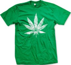Big Pot Leaf Legalize Marijuana 420 Weed Smoking Stoner Drugs Mens T Shirt | eBay