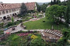 Der Lehrgarten der Gartenbauschule Langenlois