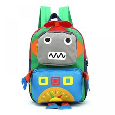 Colorful School Backpack for Kids  Price: 15.46 & FREE Shipping  #tykebags