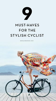 Are you a biker? You need to outfit your bike accordingly.