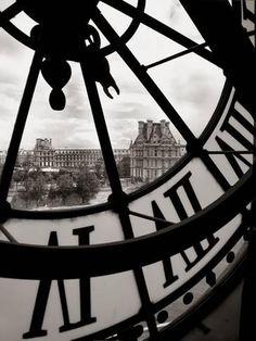 Michael de Guzman 'Big Clock' Canvas Art by Trademark Fine Art Vintage Photography, Art Photography, People Photography, Big Clocks, Clock Art, Oui Oui, Online Art Gallery, Black And White Photography, Big Ben