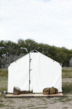 filson at El Cosmico Hotel, Marfa, TX. Photo by Mikael Kennedy.