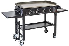 Blackstone 36 inch Outdoor Flat Top Gas Grill Griddle Station - 4-burner - Propane Fueled - Restaurant Grade - Professional Quality : Grill Griddles : Patio, Lawn & Garden