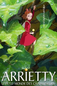 Arrietty, le petit monde des chapardeurs - COSPLAY IS BAEEE! Tap the pin now to grab yourself some BAE Cosplay leggings and shirts! From super hero fitness leggings, super hero fitness shirts, and so much more that wil make you say YASSS! Film Manga, Anime Films, Manga Anime, Studio Ghibli Films, Art Studio Ghibli, Secret World Of Arrietty, The Secret World, Film Animation Japonais, Animation Film