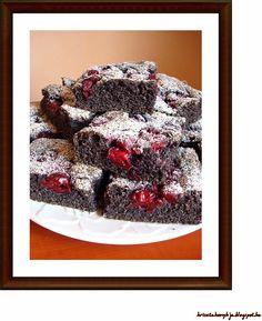Paleo meggyes-mákos piTE Fruit, Food, Eten, Meals, Diet